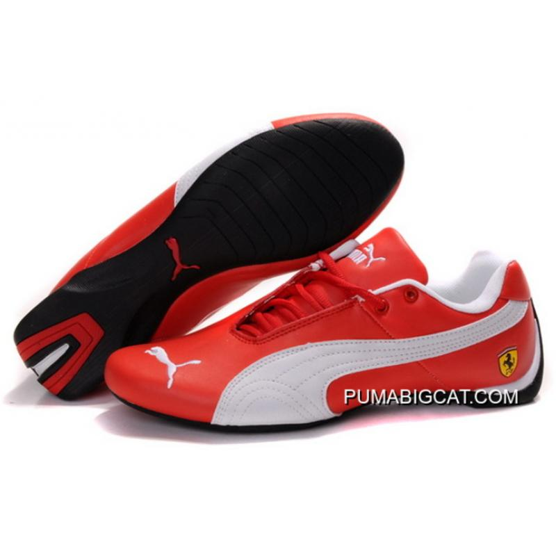 New Year Deals Red White Puma Womens